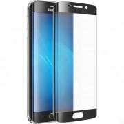 Защитное стекло 3D для Samsung Galaxy S6 edge (Черный)