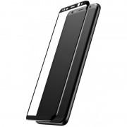 Защитное стекло 3D для Samsung Galaxy S8 (Черный)