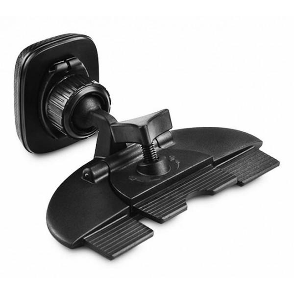 Магнитный автодержатель для смартфона Hoco CA25 в CD слот магнитолы