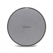 Беспроводное зарядное устройство Qi Wireless Fast Charger (Серебристый)