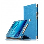 Чехол книжка для планшета Huawei Mediapad M3 8,4 (синий блестящий)