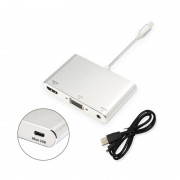 Переходник Lightning папа, Audio VGA HDMI мама Digital AV Adapter