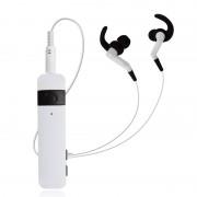 Адаптер для наушников с микрофоном Bluetooth Headphones Wireless stn 860 (Белый)