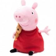 Мягкая игрушка в стиле Свинка Пеппа 20 см (Красный)