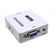 Конвертер HDMI на VGA + аудио, 1080P, HDMI2VGA для монитора, PS3, PC
