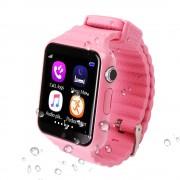 Умные детские часы Smart Baby Watch V7K (Розовые)