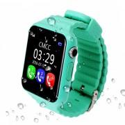 Умные детские часы Smart Baby Watch V7K (Зеленые)