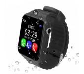 Умные детские часы Smart Baby Watch V7K (Черные)