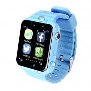 Умные детские часы Smart Baby Watch V7K (Синие)