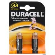 Алкалиновые батарейки Duracell LR6-2BL-BASIC-AA (1 шт)