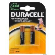 Батарейки Duracell Basic LR03-2BL AAA (1 шт)