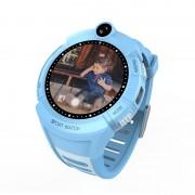 Умные детские часы с камерой и фонариком Smart GPS Watch Q360 GW600 (Голубой)
