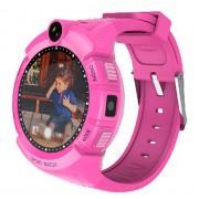 Умные детские часы с камерой и фонариком Smart GPS Watch Q360 GW600 (Розовый)