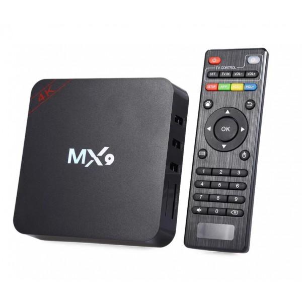 Смарт приставка ТВ MX9 Smart Box TV Android 2GB 16 GB (Черный)