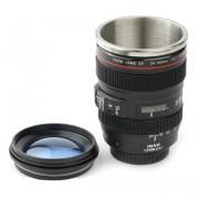 Термокружка Объектив фотоаппарата 24 105 mm крышка-линза с чехлом
