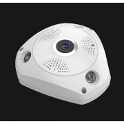 VR IP видеокамера 360 градусов (Белый)