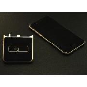 Внешний аккумулятор power bank для iPhone 5, 5s Portable Charger Aluminium V (Черный)