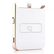 Внешний аккумулятор power bank для iPhone 6, 6s Portable Charger Aluminium V (Золотой)