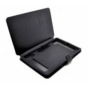 Чехол книжка универсальный для планшета 9-10 с силиконовой вставкой