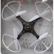 Радиоуправляемый квадрокоптер smart-drone LED (Черный)