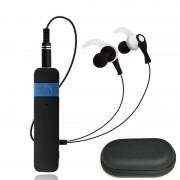 Адаптер для наушников с микрофоном Bluetooth Headphones Wireless stn 860 (Черный)