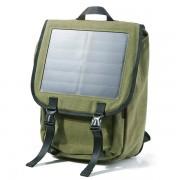 Рюкзак для ноутбука 15 с солнечной батареей (Зеленый)