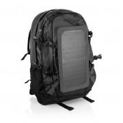 Рюкзак с солнечной батареей, вместительность 40 литров (Черный)