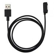 Магнитный кабель для подзарядки Sony Experia Z Ultra, Z1, Z1 mini, Z2, Z3 (Черный)