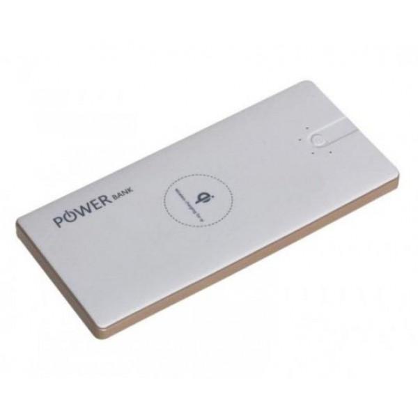 Беспроводной K-102 Qi PowerBank Wireless 10000 мАч с функцией беспроводной собственной зарядки внешнее зарядное устройство (Белый)
