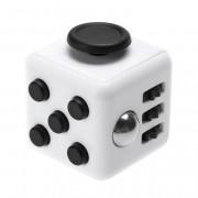 Антистресс кубик Fidget Cube питчер с красными кнопками (Белый)