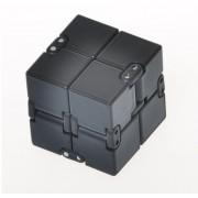 Игрушка-антистресс головоломка Infinity Cube куб трансформер (Черный)