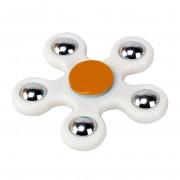 Игрушка-антистресс Spinner Спиннер крутилка пятиконечный (Белый)