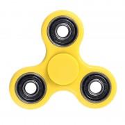 Игрушка-антистресс Spinner Спиннер крутилка треугольник питчер (Желтый)