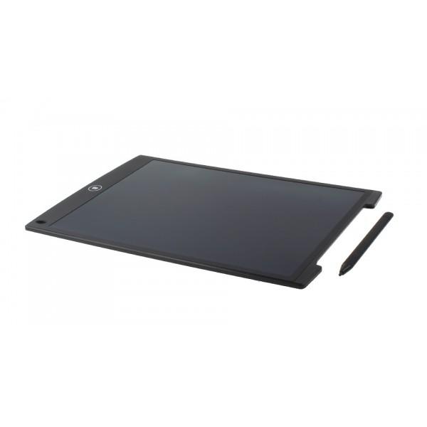 Планшет для заметок LCD ЖК графический для рисования стилус 12 дюймов черный