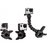 Гибкое крепление для экш камеры SJcam SJ4000, SJ5000, SJ5000+, GO PRO HERO