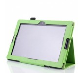 Чехол книжка для планшета Lenovo IdeaTab A7600 10 A10-70 X30 (Зеленый)