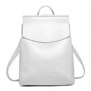 Рюкзак French натуральная кожа (Белый)