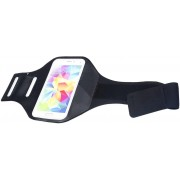 Сумка чехол на руку для смартфона плотный материал для спорта (Серый)
