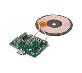 Беспроводное зарядное устройство Qi Wireless без корпуса для встраивания в мебель