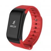 Фитнес-спорт браслет F1 (Красный)