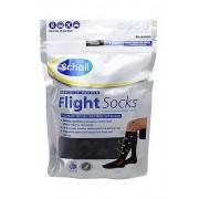 Компрессионные носки, гольфы Flight Socks для перелетов и длинных путешествий (Черный)