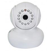 Поворотная камера IP камера HD Wi-Fi камера 720 (Белая)