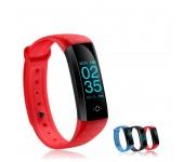 Фитнес-спорт браслет Smart Band M2S для бега (Красный)