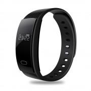 Фитнес-спорт браслет QS80 (Черный)