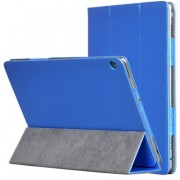 Чехол книжка classic для планшета Huawei MediaPad M3 10 Lite (синий)