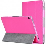 Чехол книжка classic для планшета Huawei MediaPad M3 10 Lite (Малиновый)