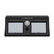 Светильник LED настенный на солнечных батареях (Черный)