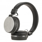 Беспроводные Bluetooth 4.2 наушники с плеером и гарнитурой SH16 FM (Черные)
