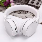 Беспроводные Bluetooth 4.2 наушники с плеером и гарнитурой SH16 FM (Белые)
