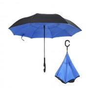 Инновационный обратный зонт (Синий)